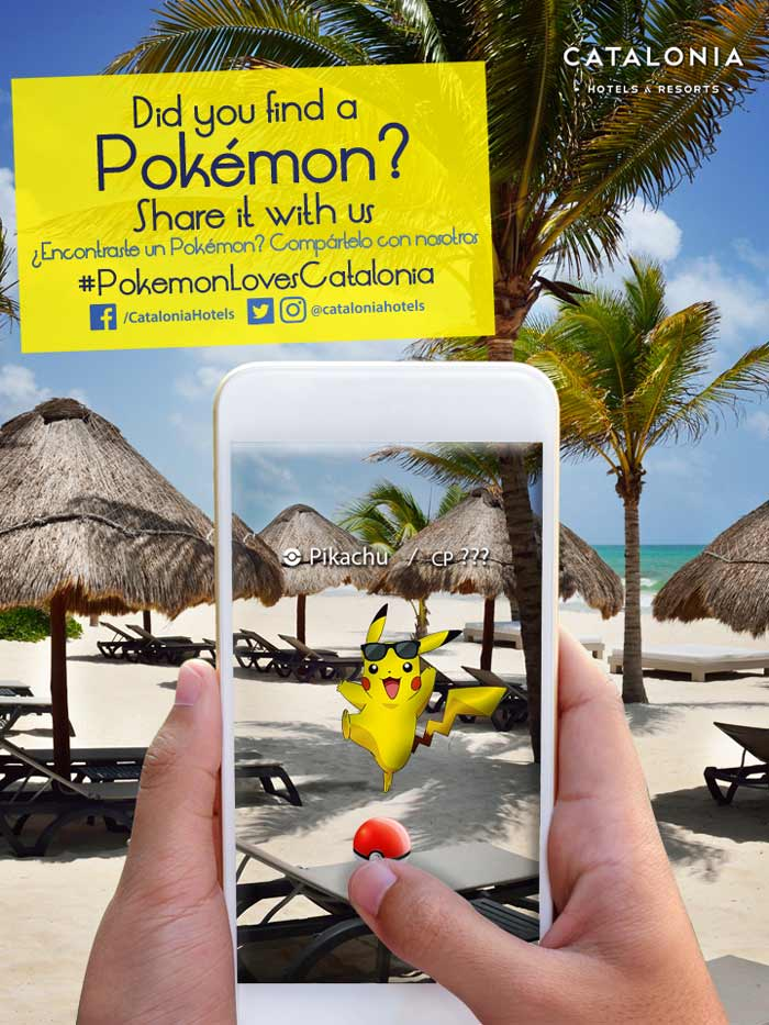 Play PokémonGo while enjoying your vacations in the Caribbean