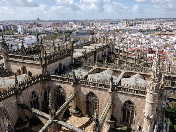 Filming locations in seville