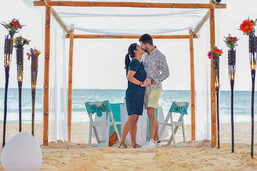 Romantic Marriage Proposal ideas in the Riviera Maya