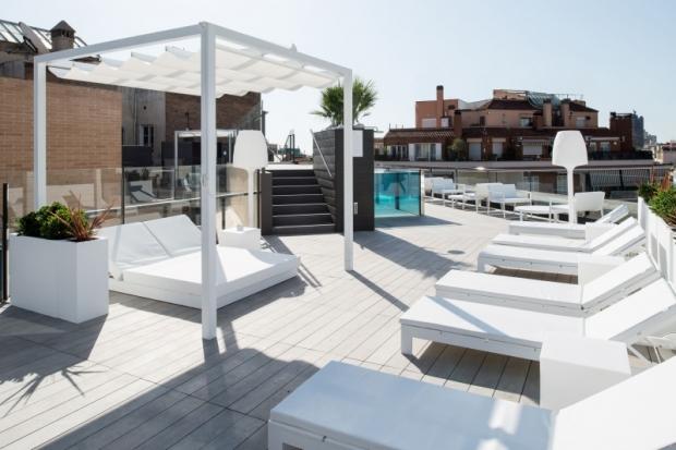 Las terrazas de catalonia lugares privilegiados para - Terrazas hoteles barcelona ...