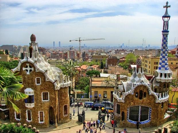 pabellones parque Güell Barcelona