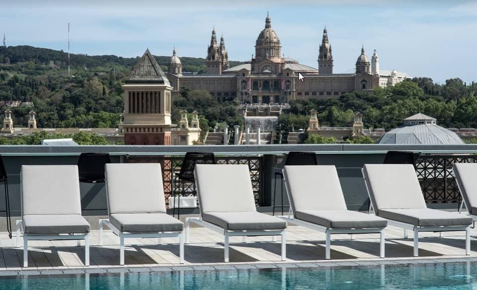 hotel con vistas en barcelona catalonia bcn plaza